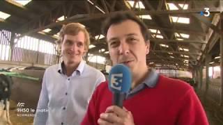 Laurent Leveque visite la ferme des peupliers à Flipou, épisode 1