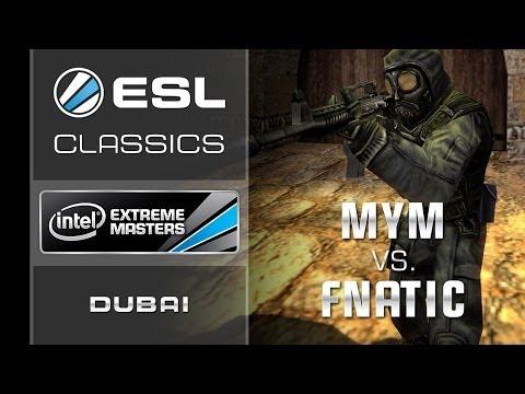 ESL Classics: fnatic vs. MYM - IEM Dubai 2009 Grand Final - Counter-Strike 1.6