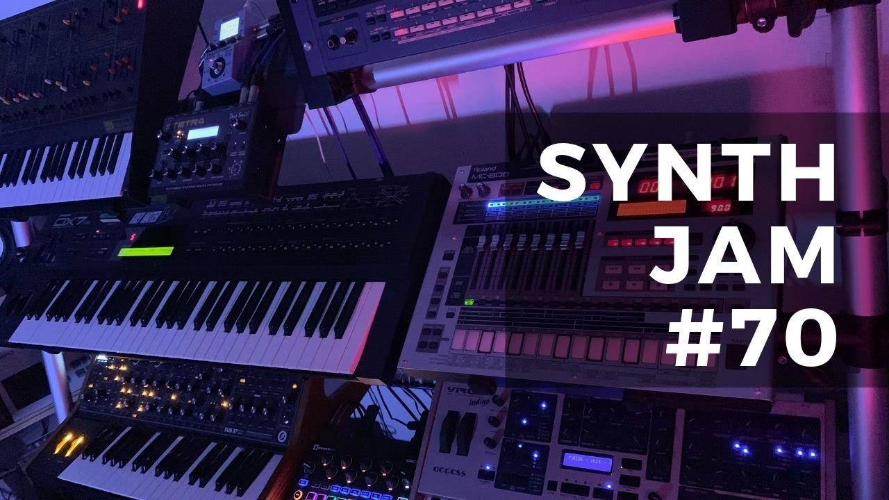 Synth Jam 70: Moog Sub 37, Virus Indigo, Novation Circuit, Yamaha DX7 & Korg Radias