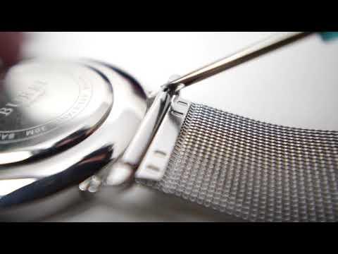 How to adjust and change BUREI watch band