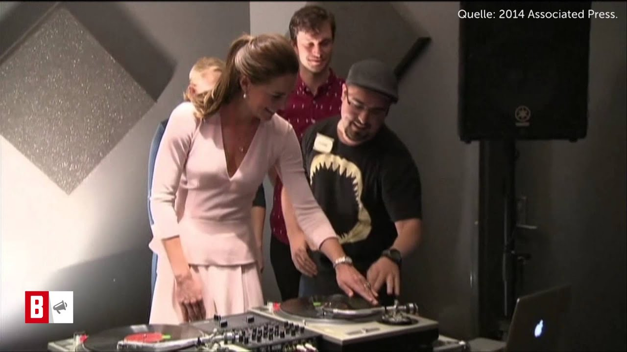BUNTE TV - Newsflash: Kate & William am DJ-Pult!