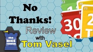 No Thanks! review - with Tom Vasel
