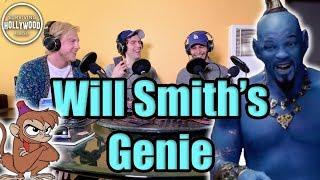 Will Smith as Blue Genie | New Aladdin Movie | Will The Fresh Prince Rap?? | w/ Jake Macpherson