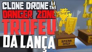 Clone Drone in the Danger Zone! Fiz todos os leveis apenas com lanç...