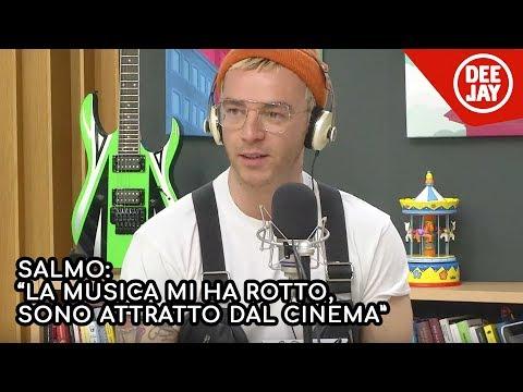 """Salmo: """"La musica mi ha un po' rotto. Sono attratto dal cinema. Non attore: regista"""""""