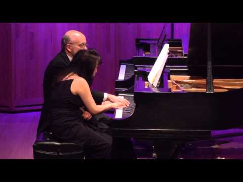 Smith and Smith play Debussy Six Epigraphes Antiques (1/2)