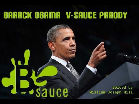 """B Sauce"" - Barack Obama/ VSauce Parody"