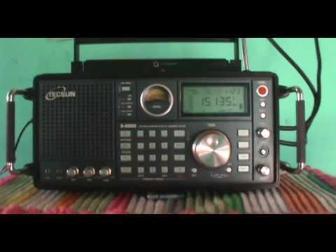 15135 kHz China Radio International (CRI), in Malaysian (Shortwave Band 19 Meters)
