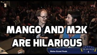 Mango and M2K are Hilarious