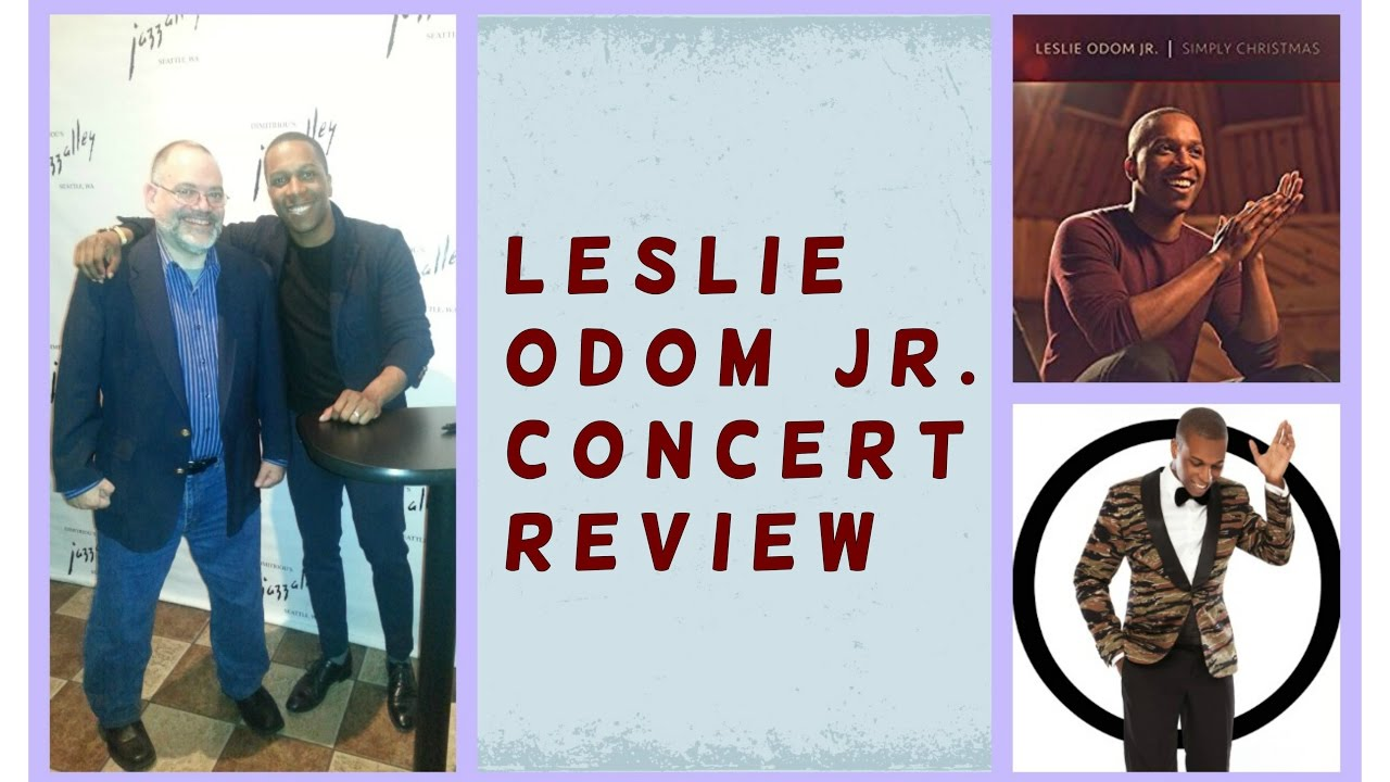 Crazy Train Presents: Leslie Odom, Jr. Concert Review - YouTube