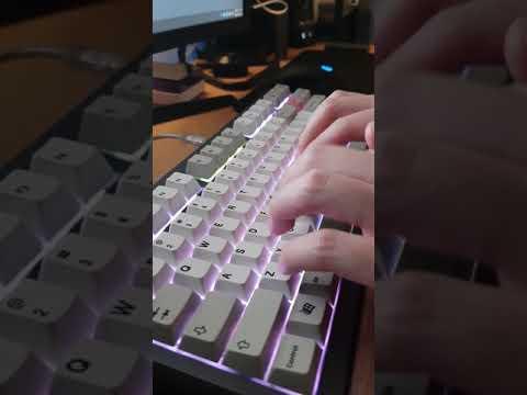 Achon FX - Gateron Silent Brown Switch Typing