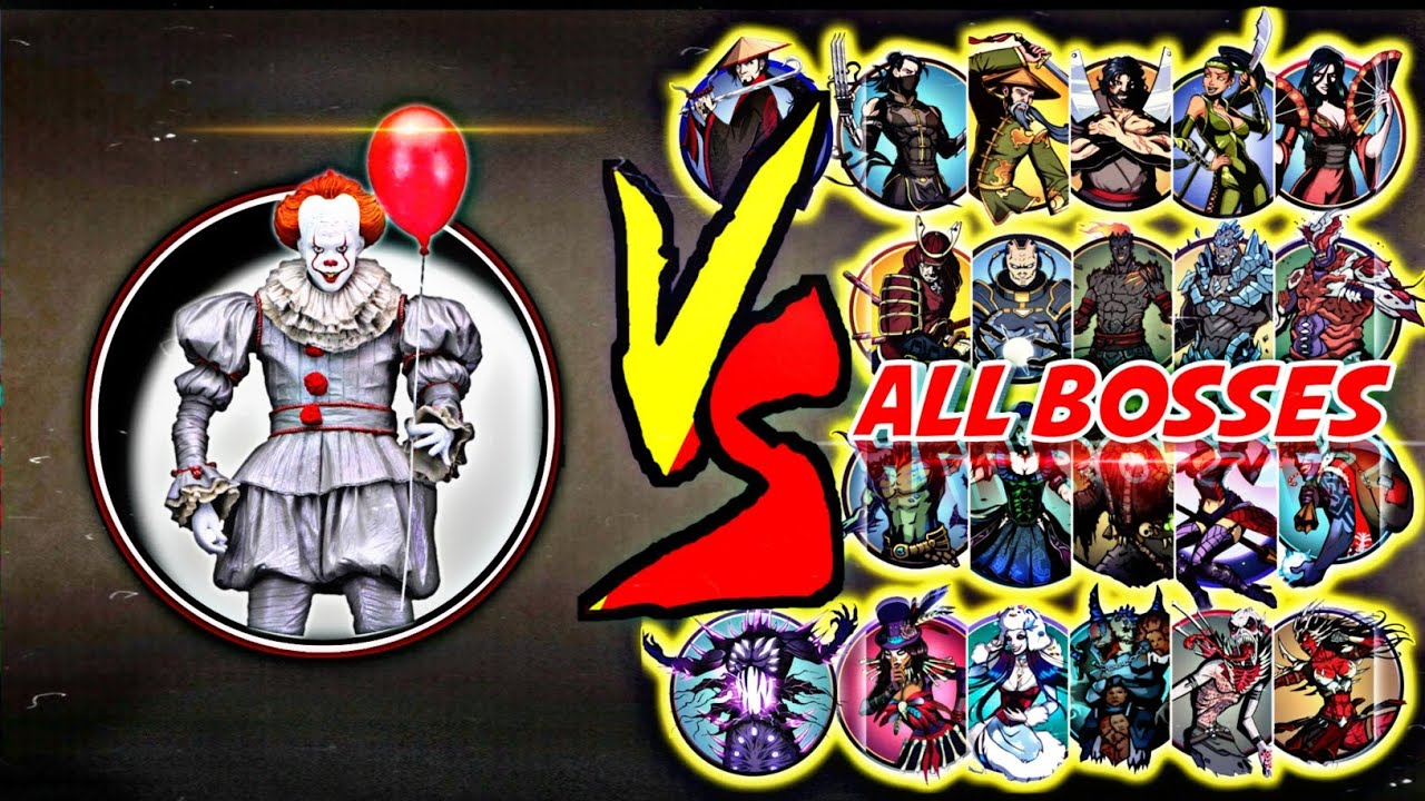 Download Shadow Fight 2 IT- Pennywise Vs All Bosses