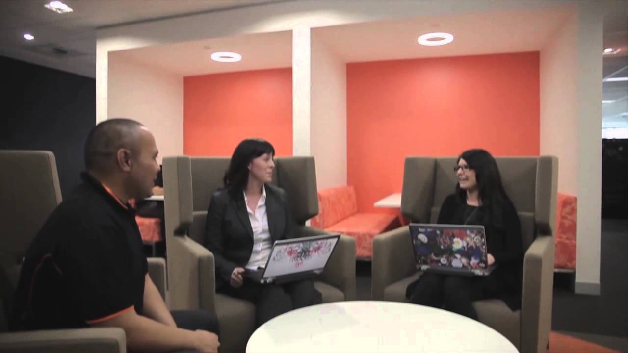 Amx Connects Bankwest S Activity Based Workspace Youtube