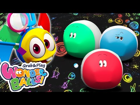 Reon The Running Crayon | Fun Colors For Toddlers And Funny Cartoons For Children