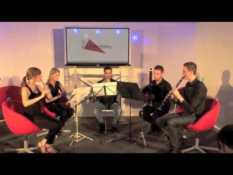 Festival d'Europa Firenze - Quintetto Musica classica Conservatorio di Cuneo