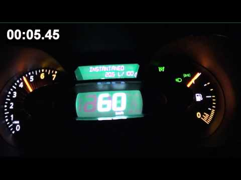 Renault Clio 0.9 TCe 90 CV - 0-120 Km/h