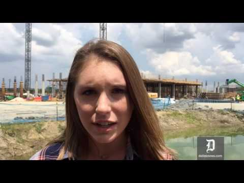 Woman breaks the norm with construction internship