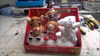"Gemmy Christmas Animated ""Island Of Misfit Toys"" (COMPLETE RESTORATION)"