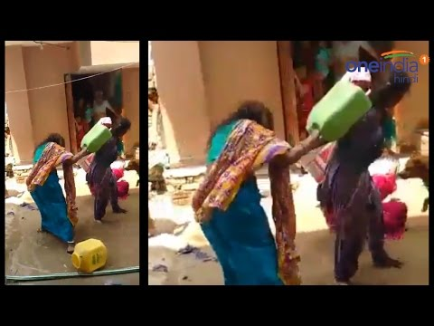 Delhi women fight over water in Mahipalpur, Video of goes viral | वनइंडिया हिन्दी