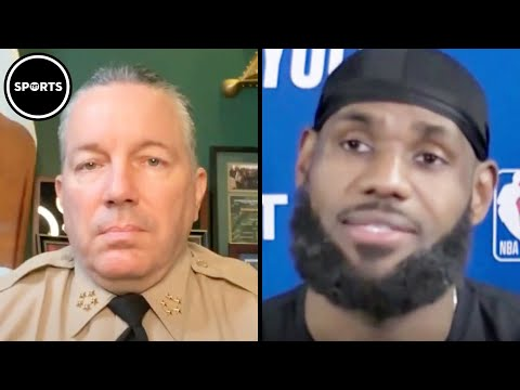 LA County Sheriff Tells LeBron James To