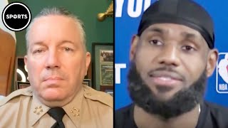 """LA County Sheriff Tells LeBron James To """"Trust The System"""""""