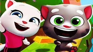 Говорящий Кот Том ЗА ЗОЛОТОМ #4 Мой виртуальный питомец Игровой Мультик игра видео для детей