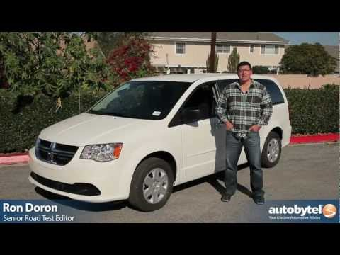Minivan Review - 2012 Chrysler Town and Country and Dodge Grand Caravan Test Drive