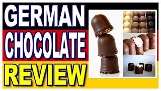 German Chocolates Schoko Strolche & Ritter Sport Review With Special Guest Inka