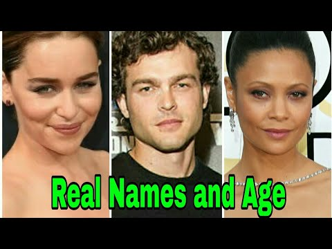 Solo: A Star Wars Story 2018 Cast Real Names and Age