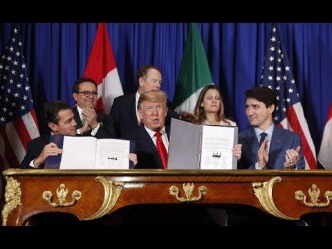 《石涛聚焦》「G20-川习会特辑」G20峰会以签署新北美贸易协议开场 力压习近平 川普随後对中美贸易战熄火两表信心 '非常好的迹象显现' 大家很努力准备着周六的晚宴 中国经济衰败几成定局 习近平无选择
