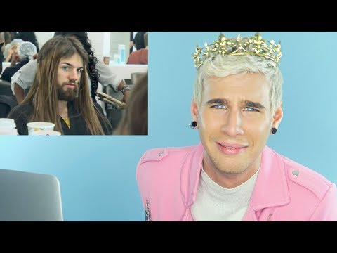 HAIRDRESSER REACTS TO AMERICAS NEXT TOP MODEL MAKEOVERS PART 5! | bradmondo