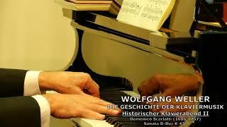 Scarlatti, Sonata D-Dur K.430, Wolfgang Weller 2017.