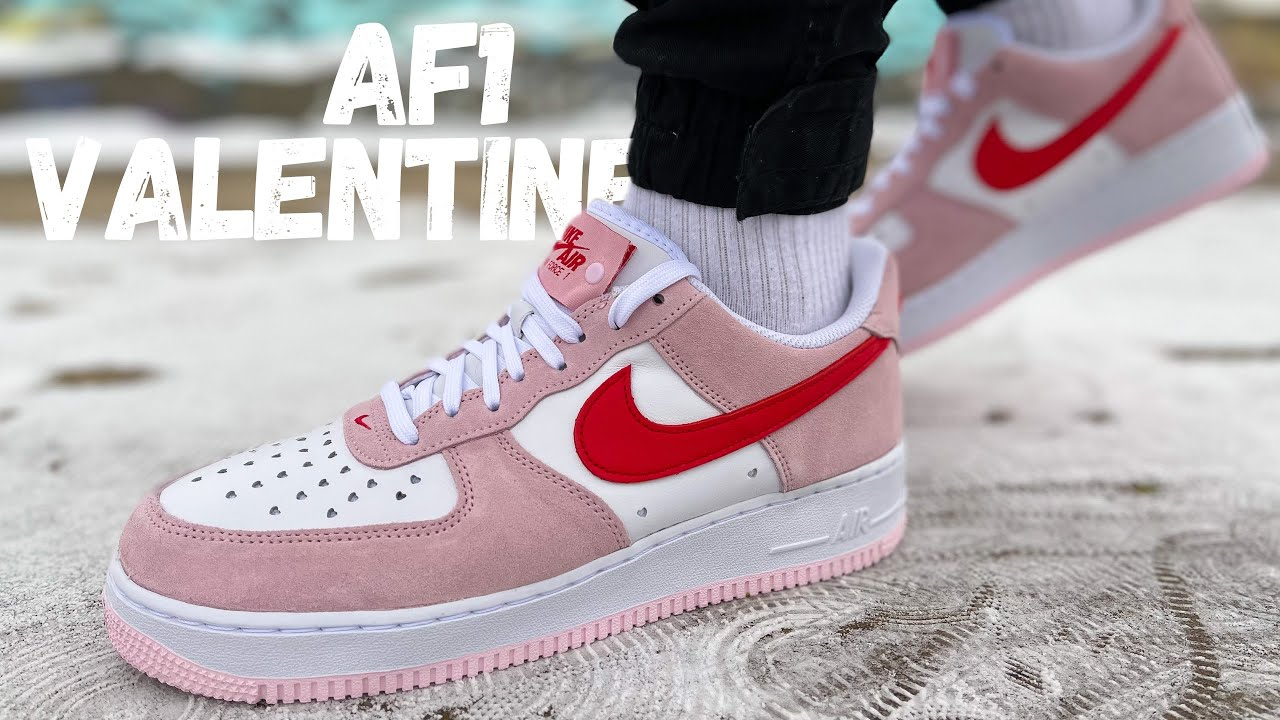 WAY BETTER Than Expected! Nike Air Force 1 Valentine's Day Review & On Foot