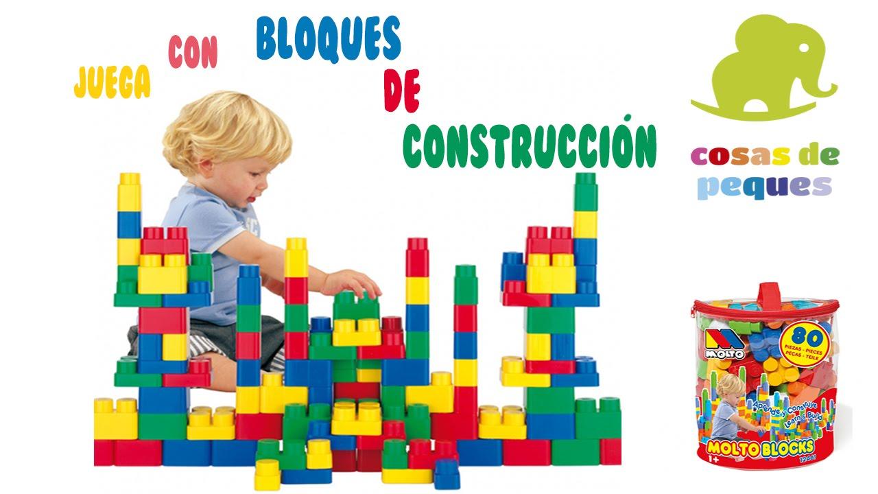 Bloques De Construccion Para Ninos Molto Blocks Juegos De Bloques