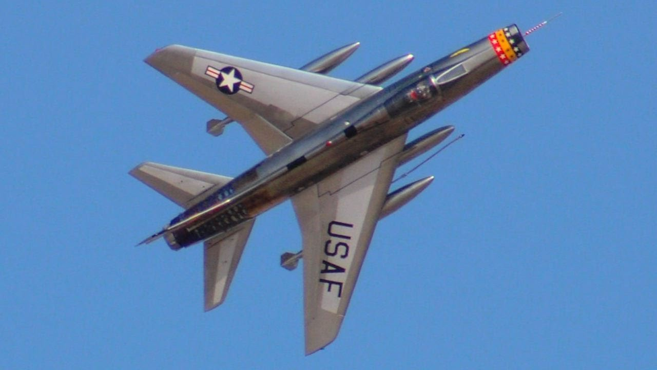 North American F-100 Super Sabre at Best in the West 2015 ...