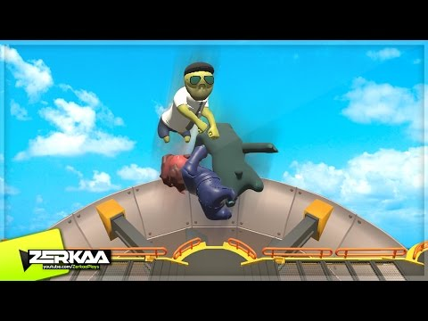 FLYING IN GANG BEASTS?! (Gang Beasts)