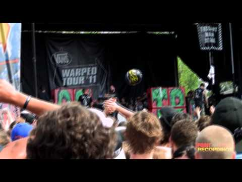 A Day To Remember - FULL SET! live in HD - Warped Tour 2011 - Charlotte, NC