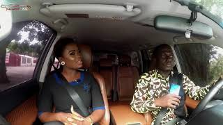 Millionaire Dr. Kwaku Oteng's Wife Akua On Celebrity Ride With Zionfelix Show