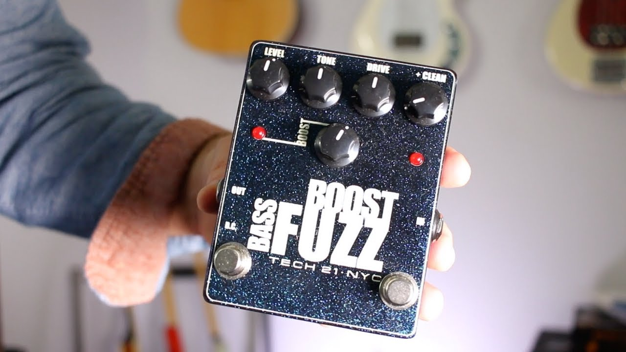 review of tech 21 bass boost fuzz distortion effect pedal youtube. Black Bedroom Furniture Sets. Home Design Ideas