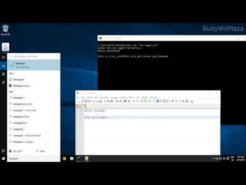 [Windows] Java Global Keylogger Demonstration