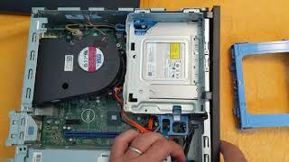 Installing Memory on Optiplex 3060 Small Form Factor Desktop