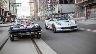 2015 Chevrolet Corvette Z06 Convertible vs. 1967 Chevrolet Corvette Sting Ray 427
