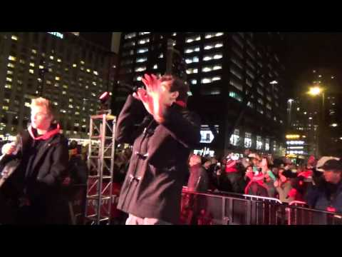 Jack & Jack - Cold Hearted On Michigan Ave. November 15, 2014