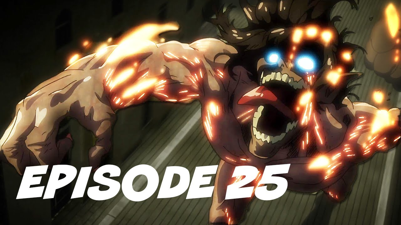 Attack On Titan Episode 25 進撃の巨人 Review - Titans In The ...