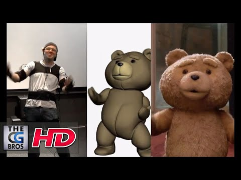 "CGI VFX Behind The Scenes : ""Ted"" Using the Mocap system MVN"