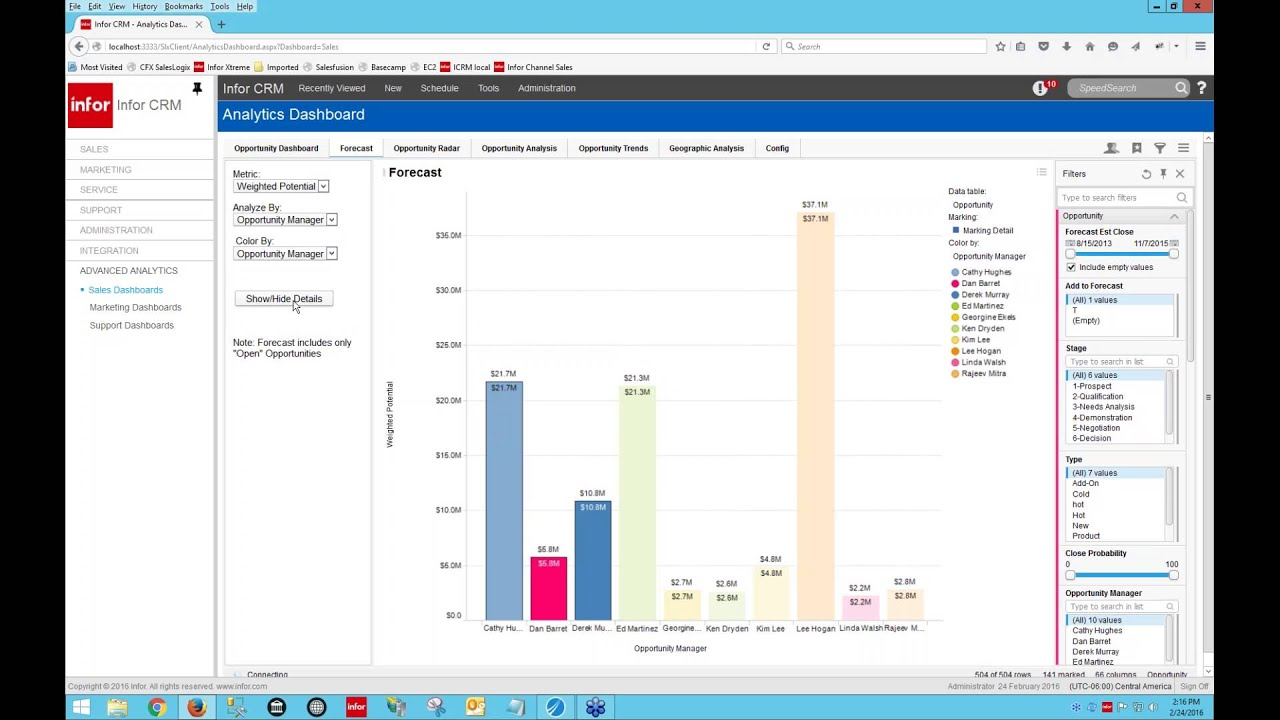 lp11 sales opportunities In this detailed demonstration, i will show you how the sales opportunities functionality works in sap business one version 88 and the sap business one star.