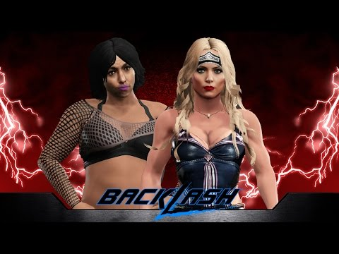 WWE Backlash Through The Years [2009]: Beth Phoenix Vs Santina Marella #WWEBacklash