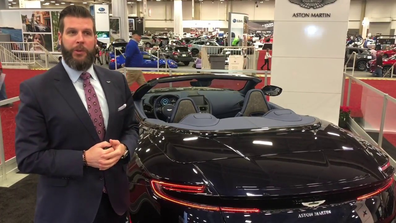 A Look at the 2019 Aston Martin DB11 Volante at the DFW Auto Show