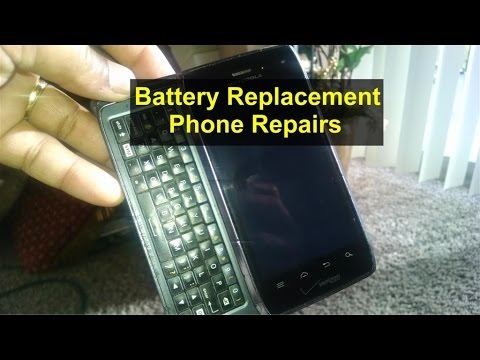 Cell phone battery replacement, Droid 4, phone charging issues, slow, etc. - VOTD