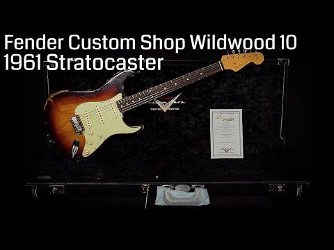 Fender Custom Shop Wildwood 10 1961 Stratocaster  •  Wildwood Guitars